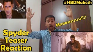 Spyder trailer reaction || superstar maheshbabu on mission - masss!!!! armurugadass is back again!!