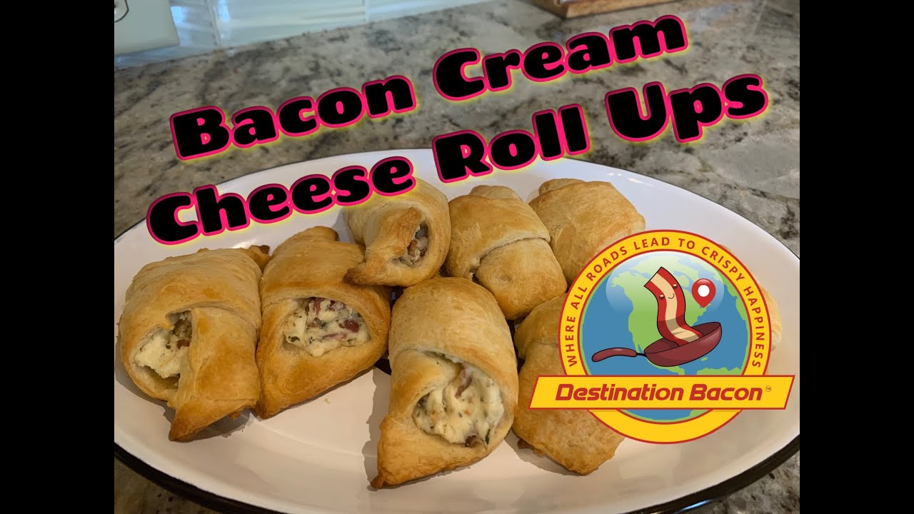 How To Make Bacon Cream Cheese Roll Ups
