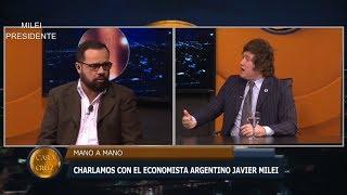 Javier Milei en Paraguay y un conductor zurdo- 07/07/19