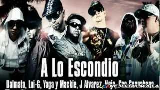 A Lo Escondido @ Ñejo  Dalmata, Yaga  Mackie, J Alvarez, Lui G, Geo Guanabana.flv