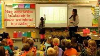 Teacher Observation of Ms. Ainge