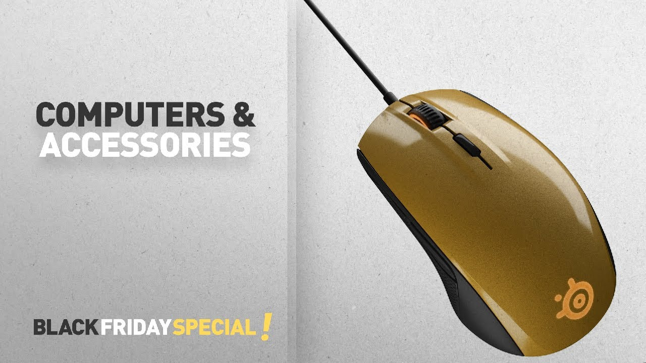 Nice Black Friday Computers U0026 Accessories: SteelSeries Rival 100 Gold Gaming  Mouse