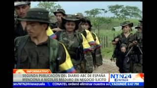 Publicación del diario ABC de España menciona a Nicolás Maduro y lo relaciona con negocio ilícito