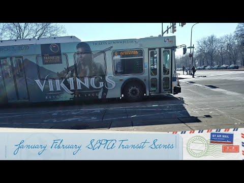 January & February SEPTA Transit Scenes