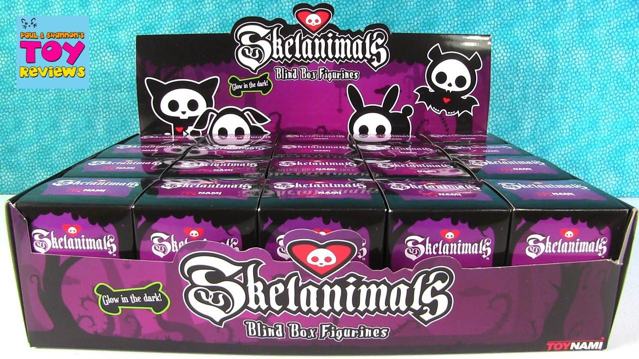 Download Skelanimals Full Case Blind Box Animal Vinyl Figure Opening | PSToyReviews