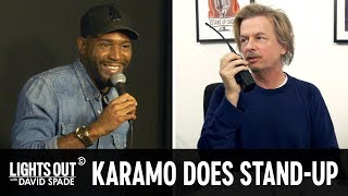 Karamo Brown Makes His Stand Up Debut feat Courteney Cox Lights Out with David Spade