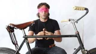 Bicycle Wine Rack Installation ( Blindfolded )
