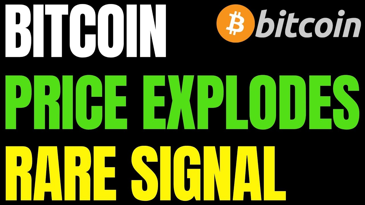BITCOIN PRICE EXPLODES AS RARE BULL SIGNAL FLASHES!! | BTC Transactions Hit A Major Milestone Today