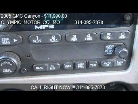 2005 Gmc Canyon 1se Sle Z71 4x4 For Sale In Florissant