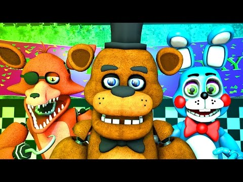 Five Nights at Freddy's 1, 2 & 3 Music (FNAF SFM 4K)(Nightcore Extended)