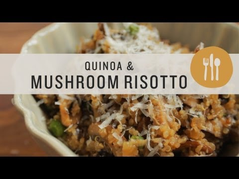 Quinoa and Mushroom Risotto Superfoods
