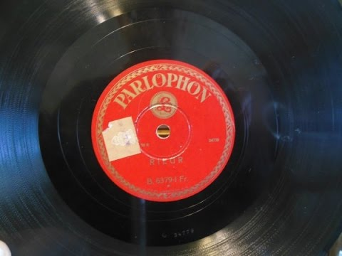 The most valuable 78 rpm record of the collection