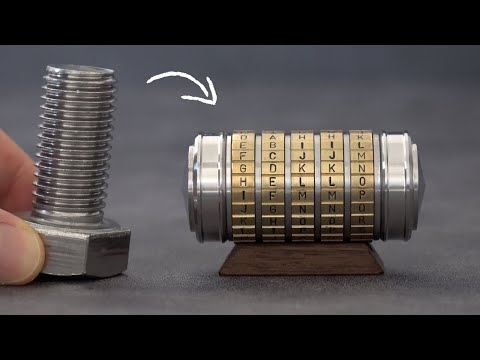 I Turn Stainless Steel Bolts into a Pocket Safe