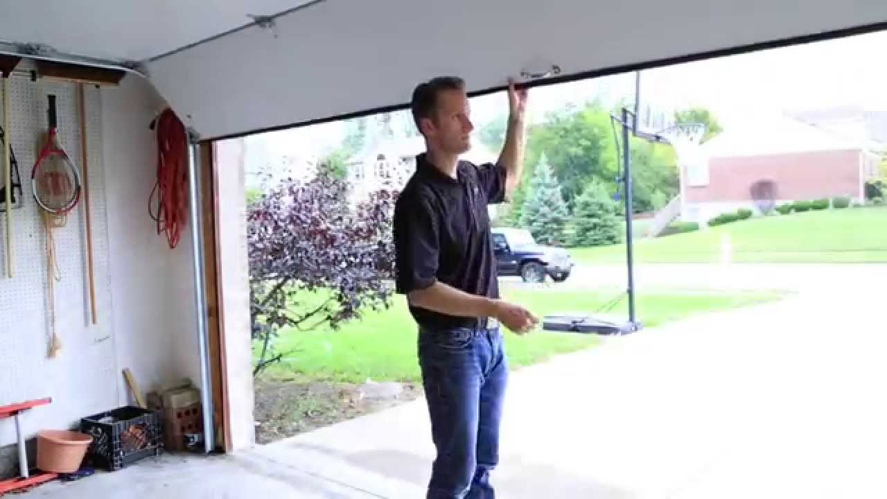 How To Manually Open Your Garage Door  Clopay  YouTube