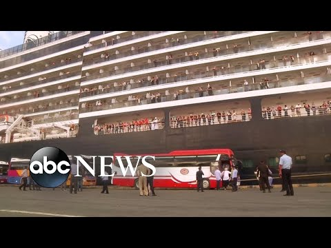 Hundreds of Americans trapped on cruise ship rescued