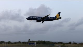 JetBlue Early Morning Arrival At BGI, Barbados