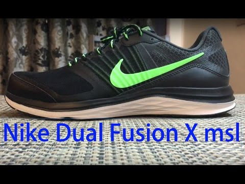 the latest b1f73 9856f Nike dual fusion X msl - YouTube