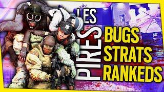LES PIRES RANKEDS DЏ MONDE 😂 Rainbow Six Siege