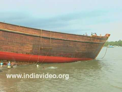 Arabian Wooden Trading vessel, Uru Beypore, Kerala