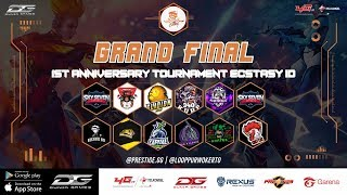 [LIVE] GRAND FINAL ONLINE TOURNAMENT FREE FIRE 1ST ANNIVERSARY ECSTASY ID | By PRESTIGE