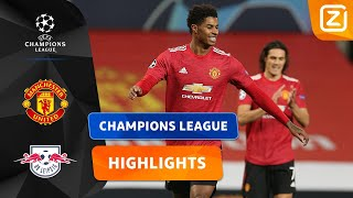 HAT-TRICK HERO RASHFORD! 🧙🏼 | Manchester United vs Leipzig | Champions League 2020/21 | Samenvatting