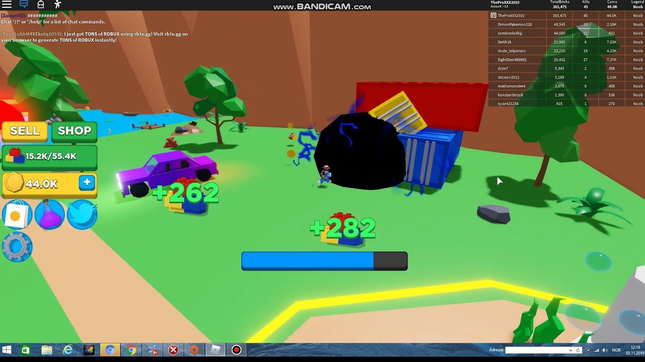 playing roblox Black hole simulator!