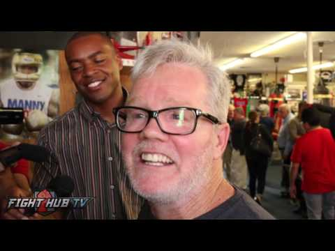 "Freddie Roach ""Joshua is the best heavyweight right now! Klitschko is over the hill"""
