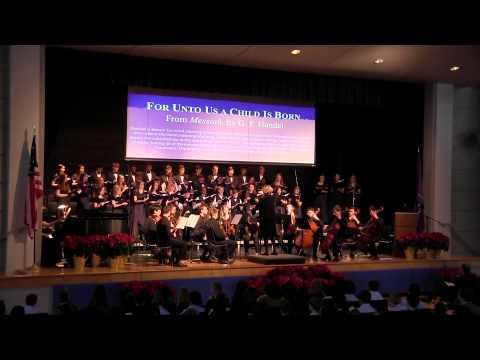 Trinity Christian School of Fairfax - For Unto Us a Child Is Born