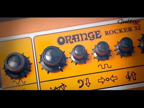 Orange Rocker 32 guitar amp demo