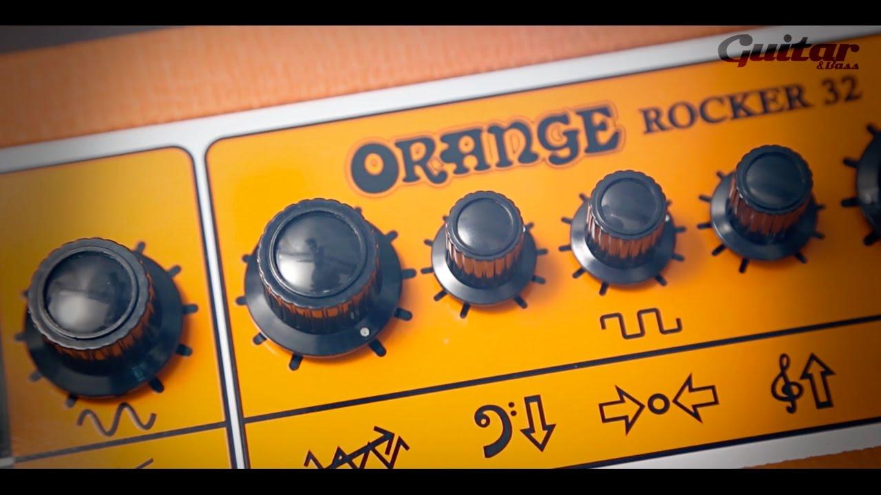 Orange Rocker 15 & 32 Review - Guitar com | All Things Guitar
