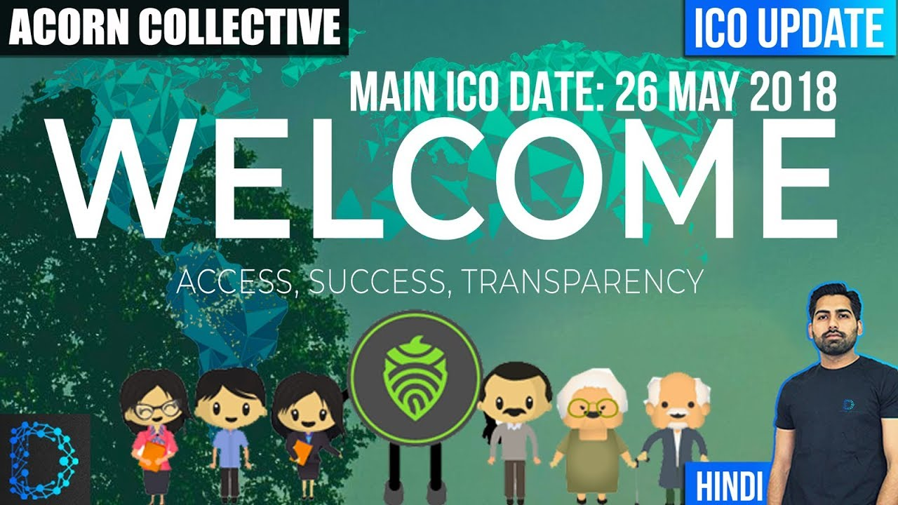 ICO Update - Acorn Collective (OAK) - Main Sale Date - Crowdfunding ...