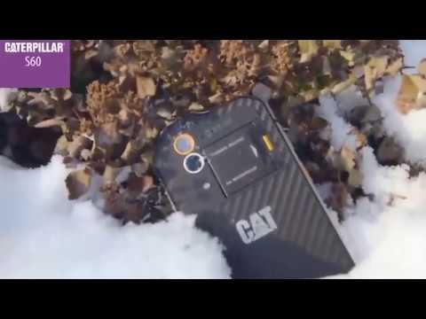 CAT S60 — первый телефон с тепловизором - YouTube