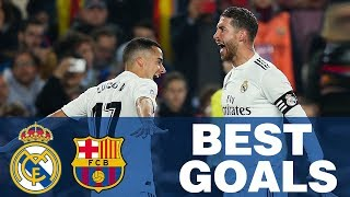 Real Madrid's BEST GOALS against Barcelona!