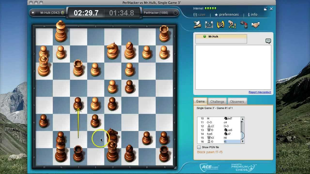 Blitz Chess Match on FIDE online arena with german commentary vs  Mr Hulk