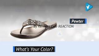 Kenneth Cole REACTION Women's Glam-Athon Flat Sandal | Flats Sandals 2019 Trends