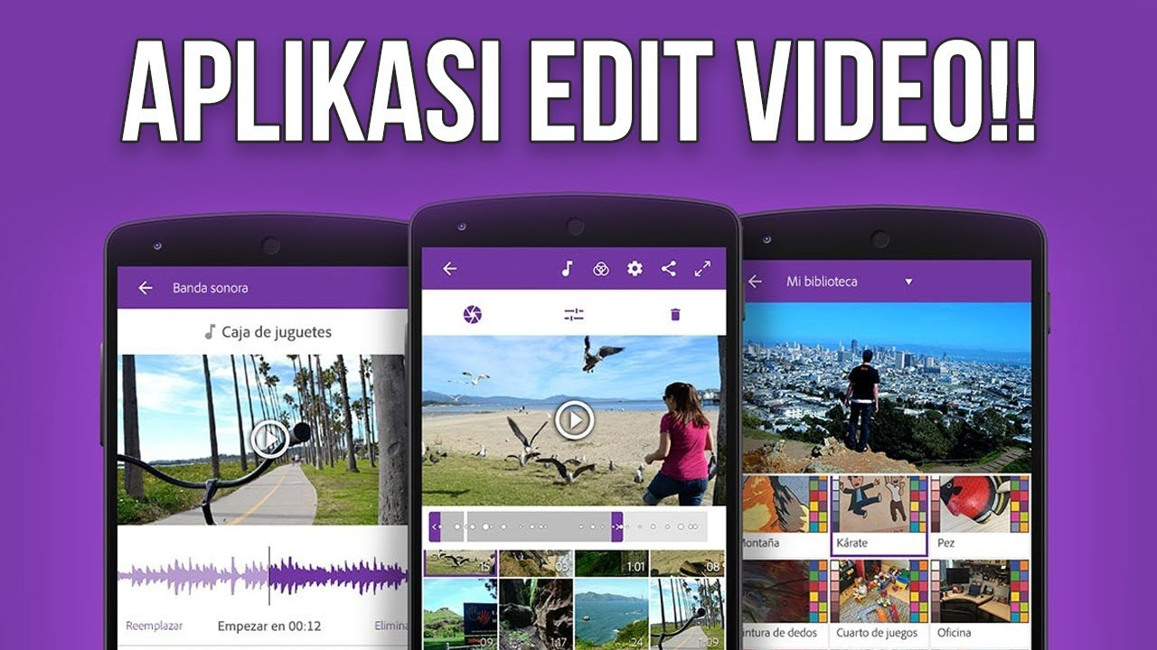 5 Aplikasi Edit Video Terbaik Di Smartphone Sekelas Adobe Premiere