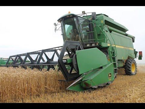 Grain harvest:  2256 + John Deere 4,8 meters