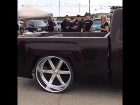 "Silverado 2014 on 28"" billet wheels -wiz khalifia -MEZMORIZ - YouTube"