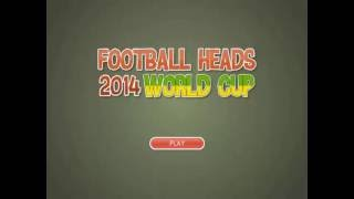 FOOTBALL HEADS: 2014 WORLD CUP (CountryGames)