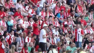 SK Slavia Praha - Brno (5:0) dlouhá a krásná Děkovačka
