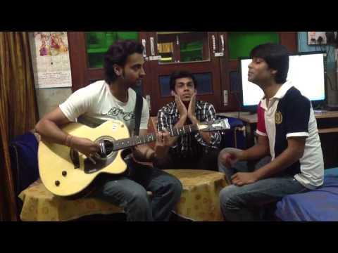 Jalpari - Atif Aslam ( Coke Studio ) guitar cover by palash praful & faizan