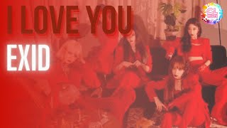 [Thaiver.] EXID(이엑스아이디) - I LOVE YOU (알러뷰) l Cover by CL Mus…