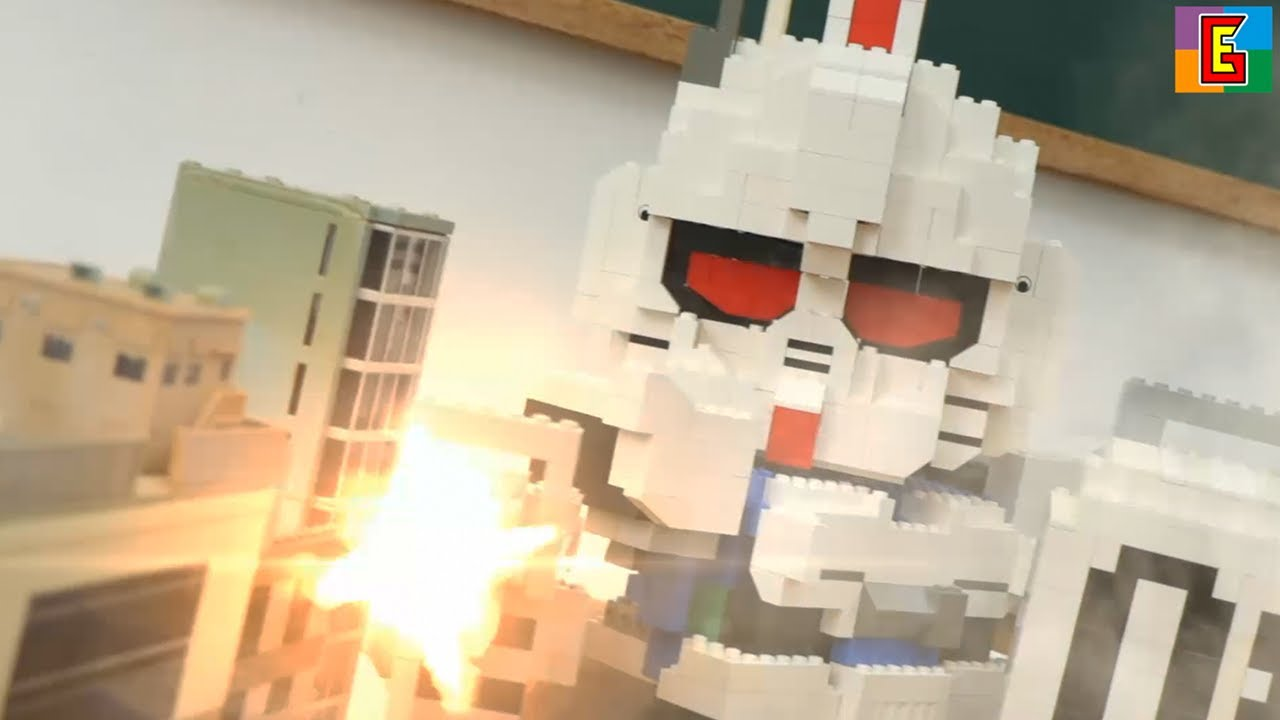 EPIC SCHOOL FIGHT 🔥 中二病 GUNDAM 機動戦士ガンダム 08 MS 小隊 4