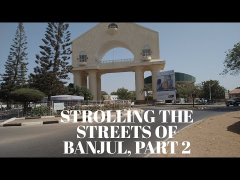 Strolling The Streets Of Banjul..... Part2: The Gambia, West Africa!!