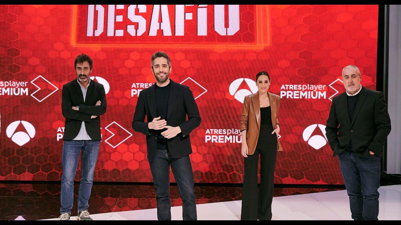 EL DESAFÍO: Presentación del nuevo formato de Antena 3. Enero 2021