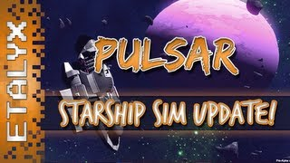PULSAR: Lost Colony - Spaceship Simulator WARP SPEED!