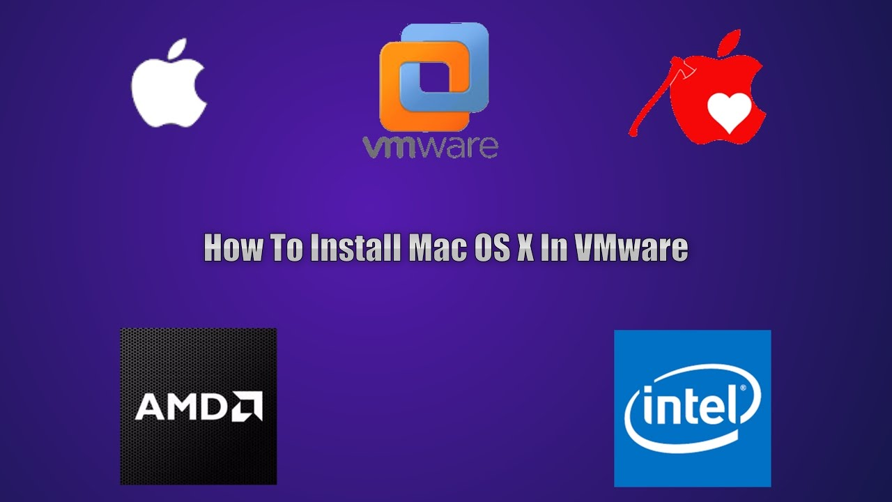 how to install yosemite zone iso on vmware