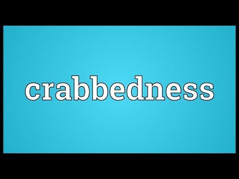 Header of crabbedness
