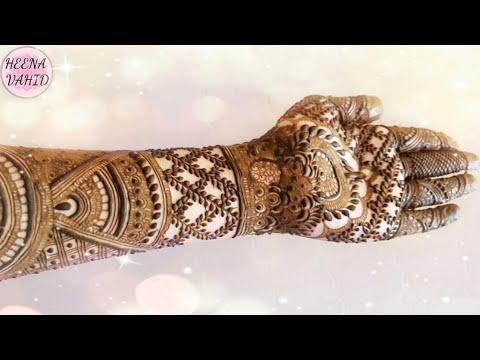 Diwali Special Mehndi Design 4 2018 Heena Vahid Youtube