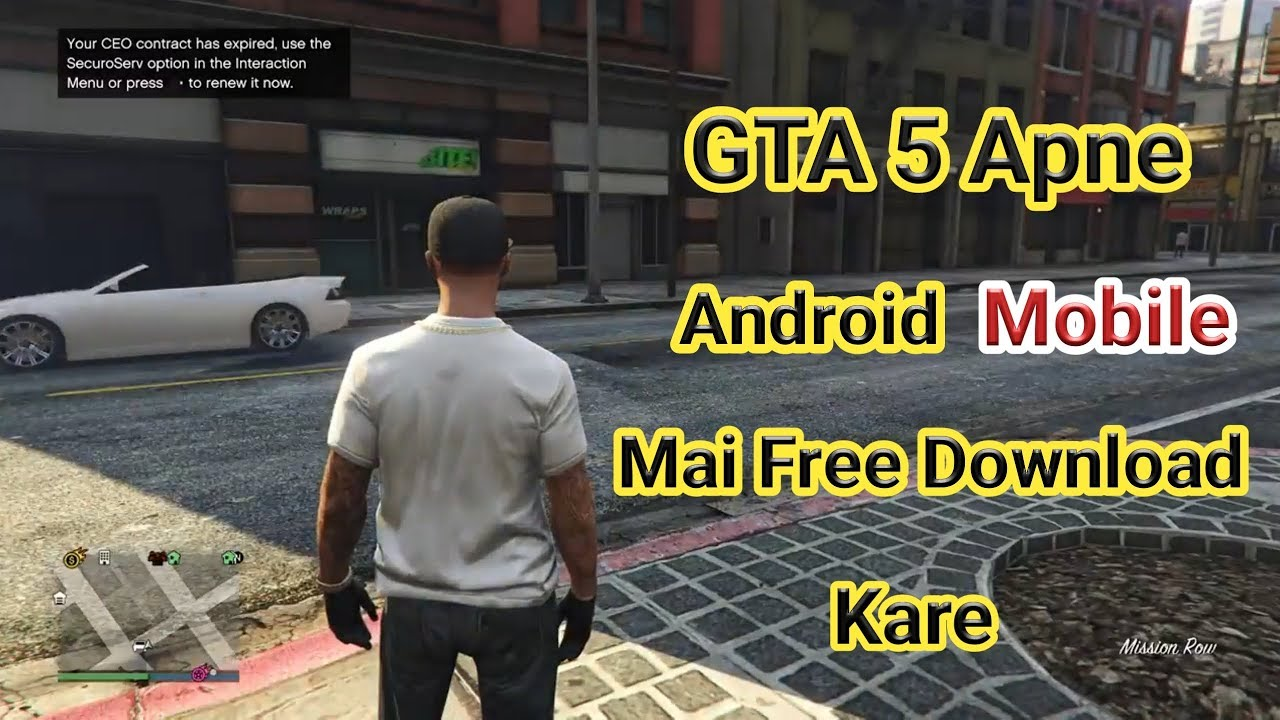 Download gta 5 mobile apkpure | Free GTA 5 Mobile APK